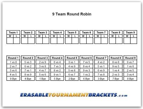 9 team round robin tournament brackets cornhole tournament brackets. Black Bedroom Furniture Sets. Home Design Ideas
