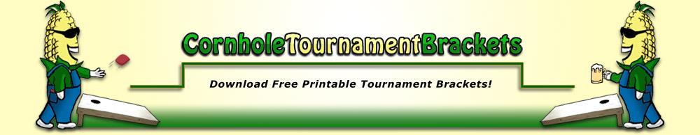 Cornhole Tournament Brackets